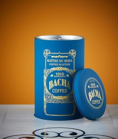 Majorelle Coffee Canister in Light Blue