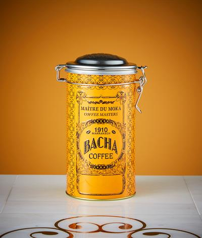 Autograph Round Canister in Orange
