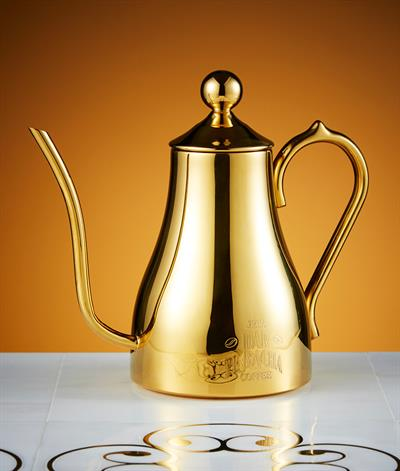 Bacha Coffee Pot in Gold