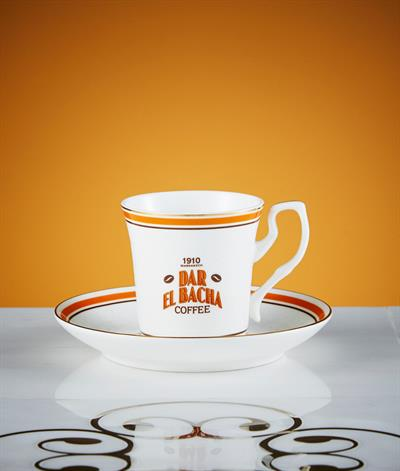 Bacha Heritage Coffee Cup And Saucer