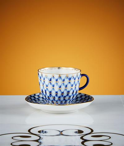Hermitage Coffee Cup And Saucer