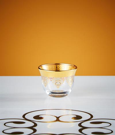 Levantine Coffee Bowl in Gold