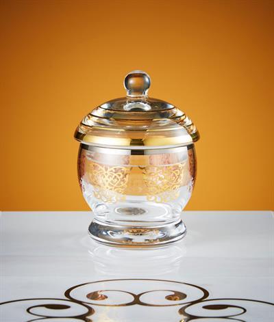 Levantine Sugar Bowl in Gold