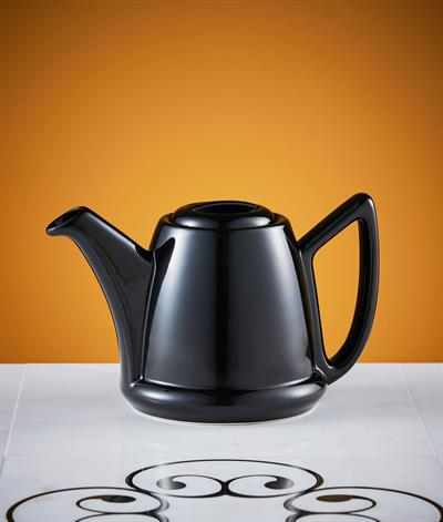 Modern Coffee Pot 600ml, Spare Pot And Lid