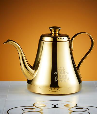 Vintage Coffee Pot/Kettle in Gold
