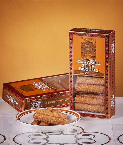Caramel Stick Biscuits