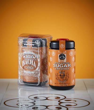 Raw Coffee Sugar Crystals