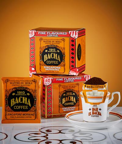 Singapore Morning Coffee Bag Gift Box